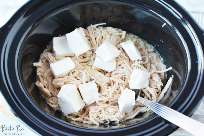Buffalo Chicken Dip Slow Cooker Recipe is easy to make in your Crock Pot