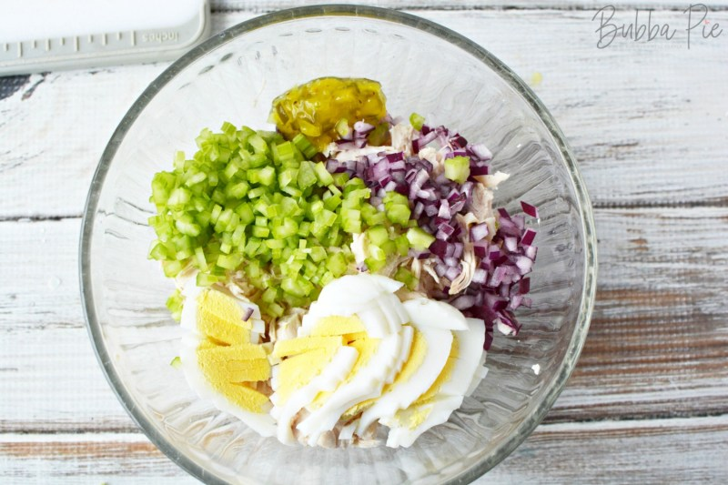 Homemade Chicken Salad is a quick and easy lunch recipe
