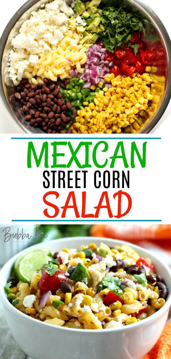 Mexican Street Corn Salad Pin
