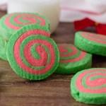Christmas Pinwheel Cookies Bubbapie