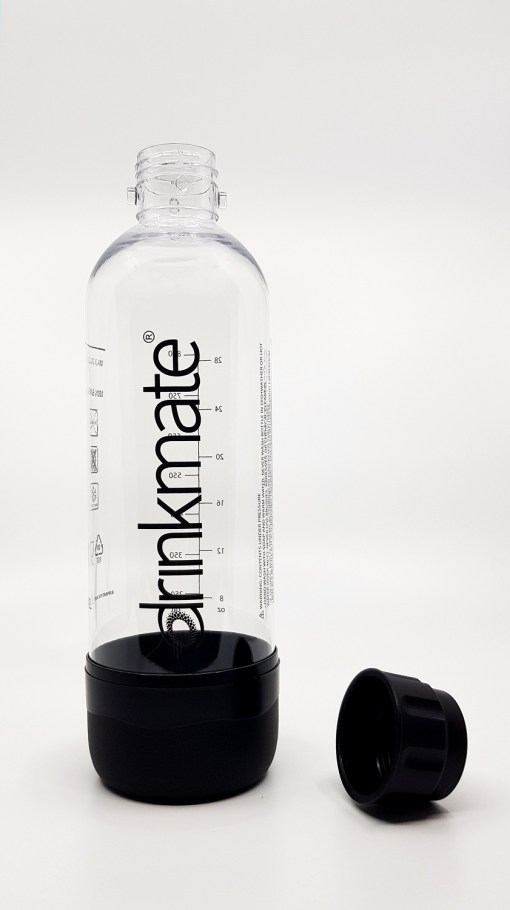 bubble-bro - picture of DrinkMate Black 1L Bottle with cap off