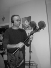 Eric ready to record