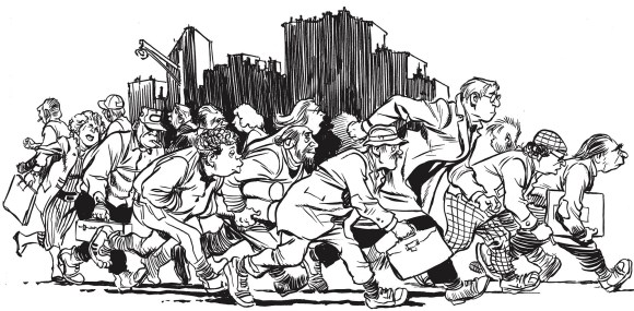 Illustration de l'article New York Trilogie de Will Eisner