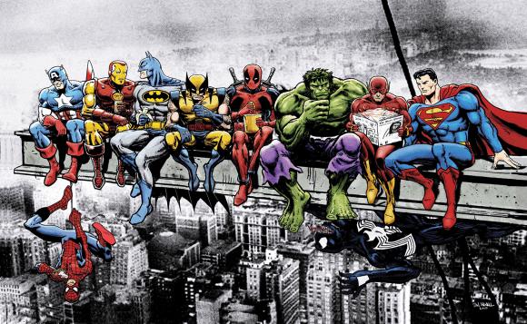 Illustration de l'article Découvrir les comics— ép.1 : les fondations du super-héros en 10 essentiels