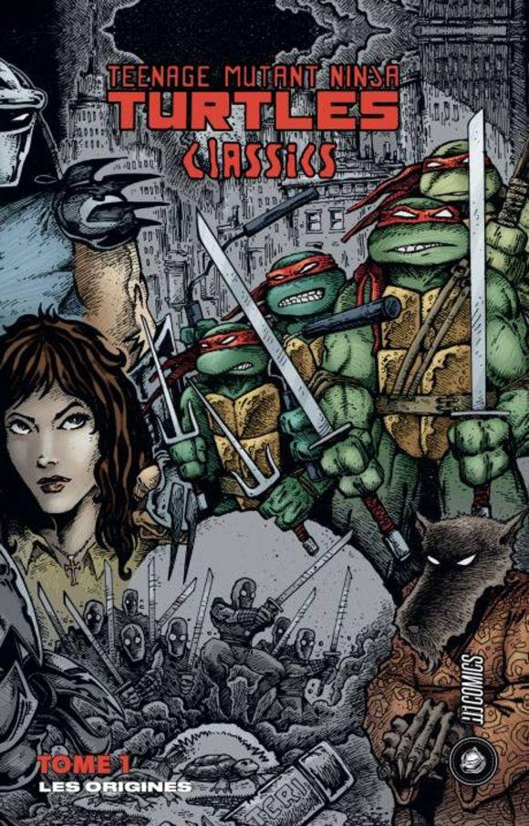 Les Tortues Ninja, TMNT classics, de Kevin Eastman & Peter Laird, Hi Comics