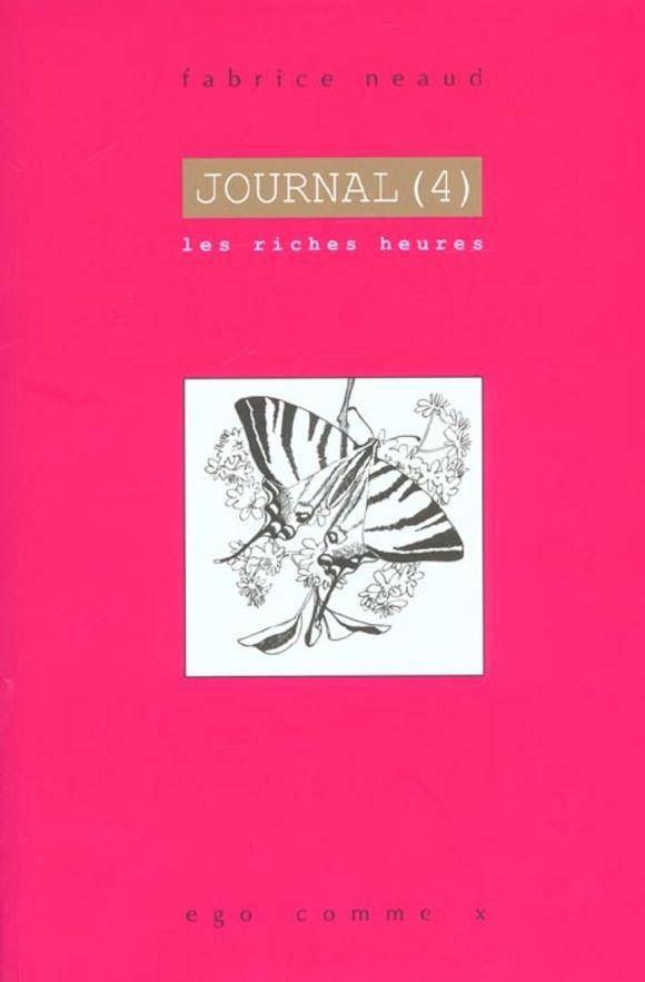 Journal T4 de Fabrice Neaud, ego comme x