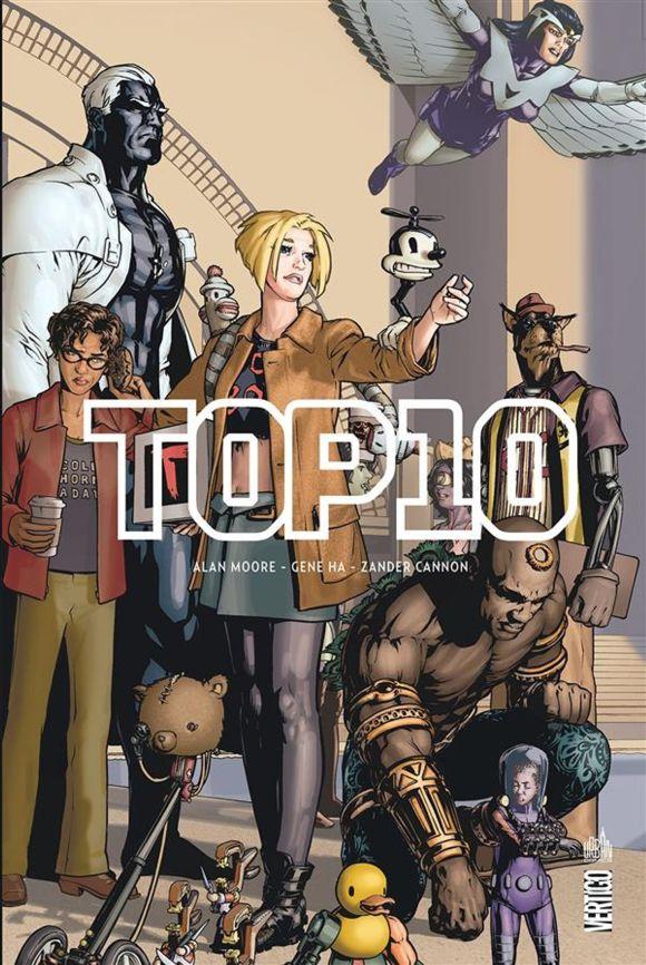 TOP10 Alan Moore, Gene Ha & Zander Cannon, Urban. Comics