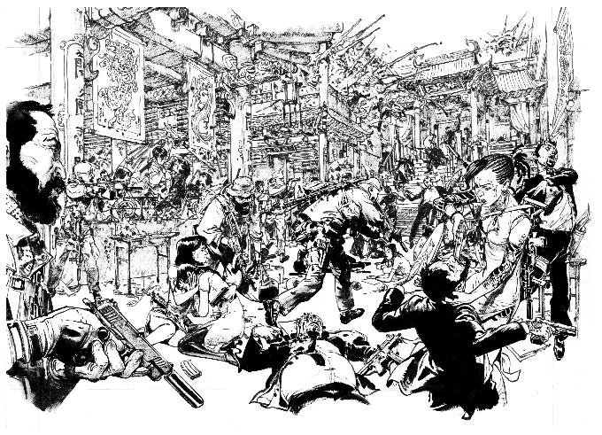 Spy Games de Jean-David Morvan et Jung-Gi Kim chez Glénat