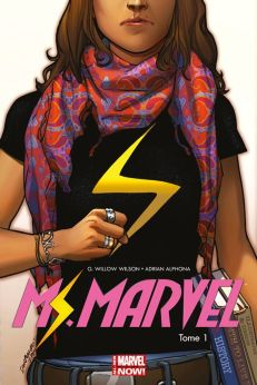 Ms. Marvel T1 de Frédéric Bernard, G. Willow Wilson & Adrian Alphona, Panini