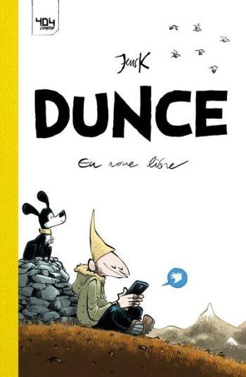 © Dunce en roue libre / Jensk / 404 Éditions