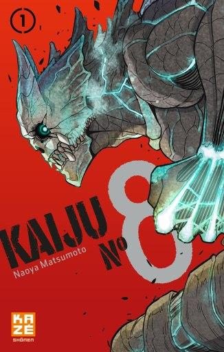 Kaiju n°8 de Naoya Matsumoto, Kazé