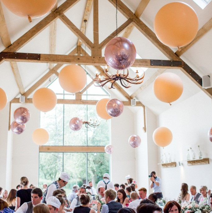 Bubblegum Balloons - Philippa Sian Photography