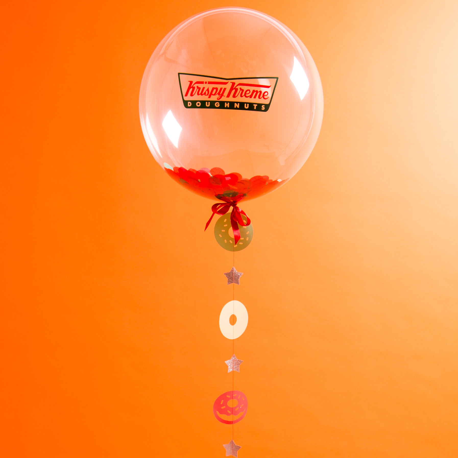 Bubblegum Balloons for Krispy Kreme