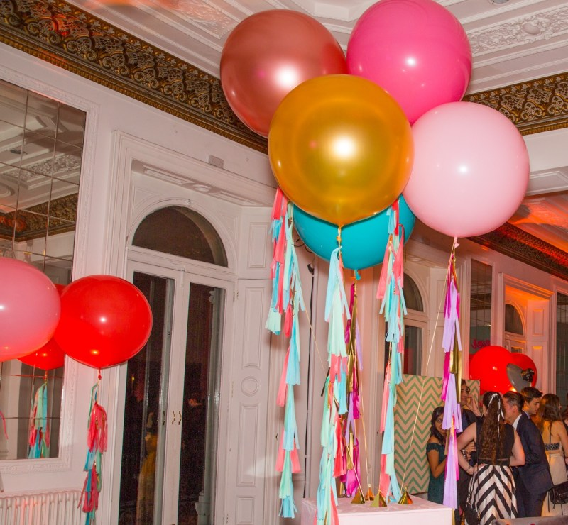 Bubblegum Balloons with Teatime London Events