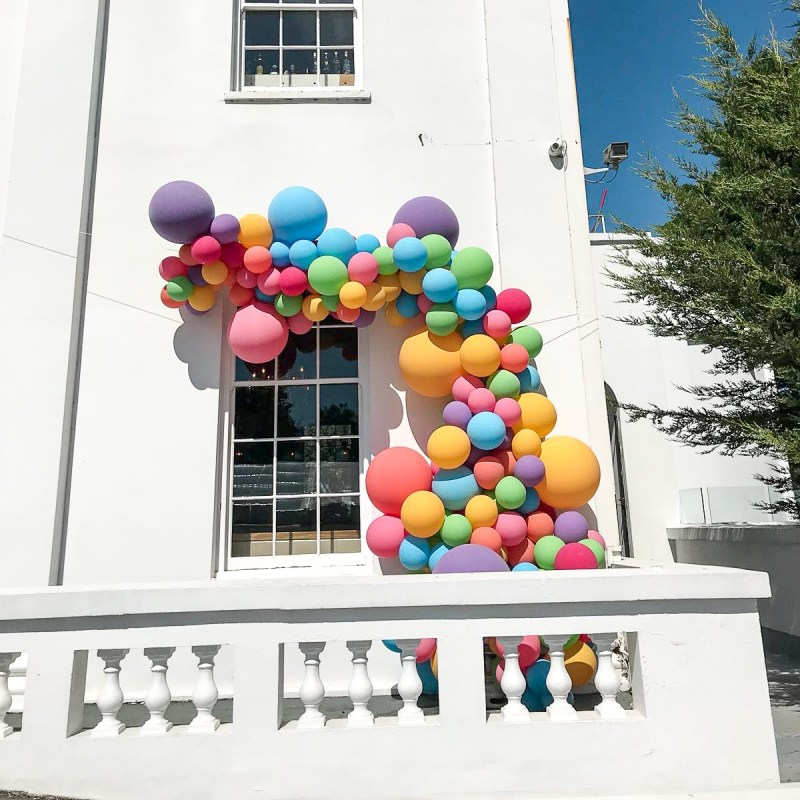 Bubblegum Balloons at Belair House