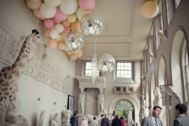 Bubblegum Balloons at Aynhoe Park, Marianne Taylor Photography