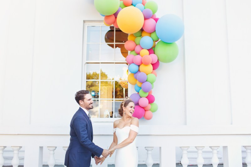 Bubblegum Balloons at Belair House, Cotton Candy Photography 12