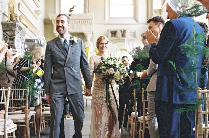 A Spring wedding at Aynhoe Park