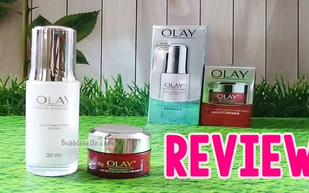 [REVIEW] Olay Light Perfecting Essence & Olay Regenerist Micro Sculpting Cream