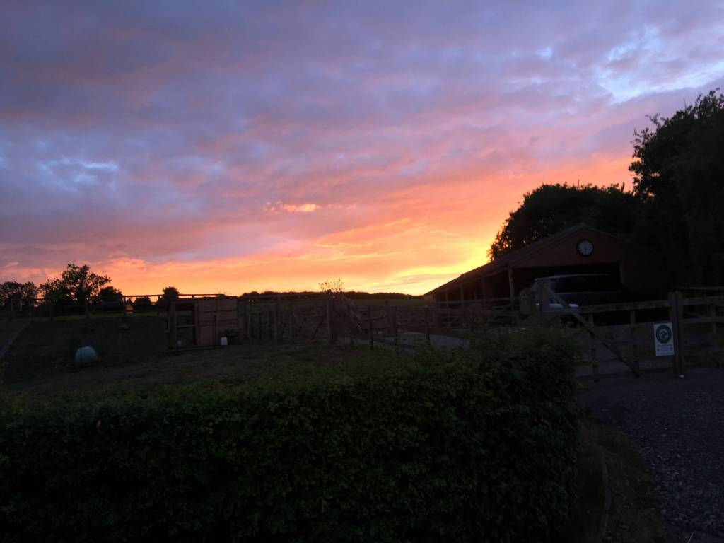 Englishcombe Sunset