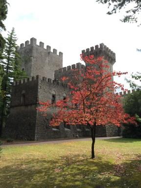 A castle in Chianti