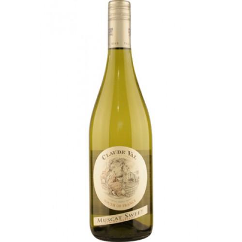 Claude Val Muscat Sweet, zoete witte wijn