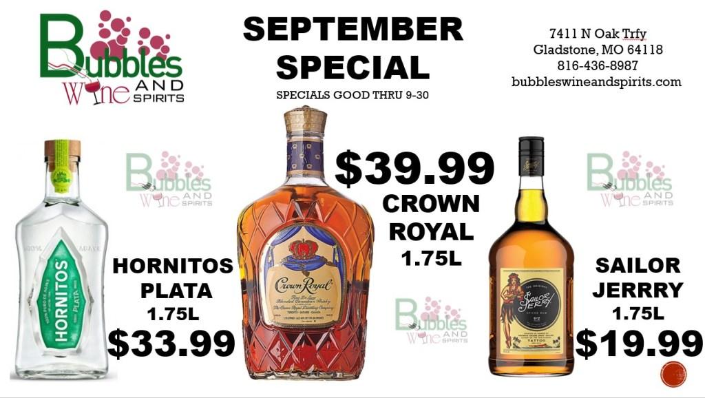 Sept 4 2020 Specials