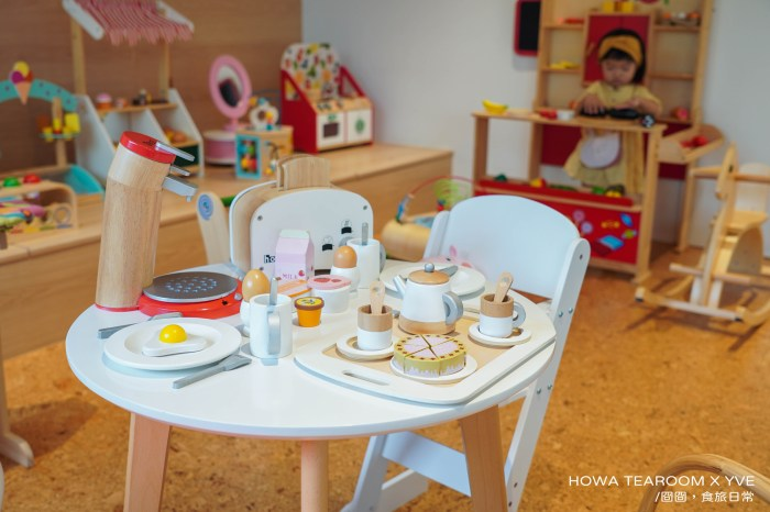 台北 HOWA TEAROOM X YVE,媽媽會超喜歡的親子友善咖啡廳,信義安和站