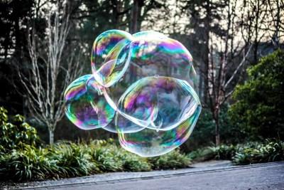 Bubblewelt Riesenseifenblasen und Bubbles