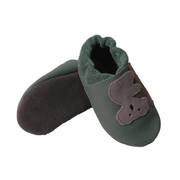 forest koala baby leather shoe soles