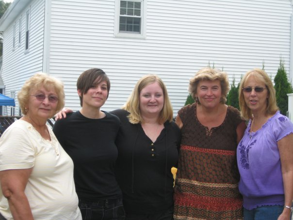 Kristyn's Mom, Kristyn, Me, Kristyn's Aunt Allison from her Mother's Side, Kristyn's Aunt Debbie from her Father's Side