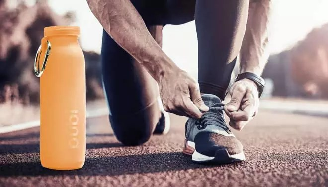 solution, run, runner, sport water bottle, sport