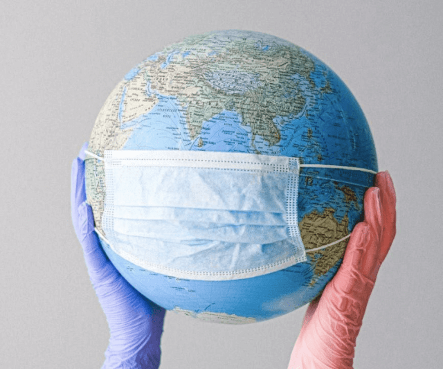 The pandemic affects the world globally