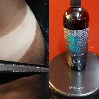 spray tan traditional
