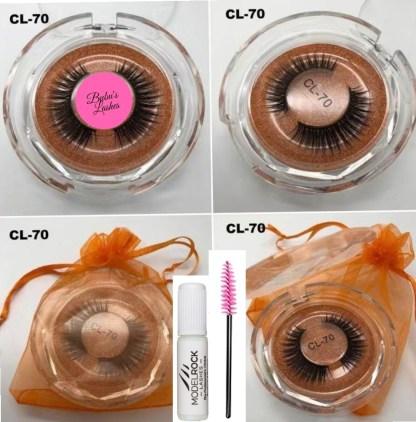 Cleo-70 Strip Lashes