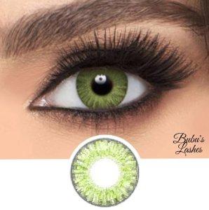 Gemstone Green Non-prescription Contact Lenses