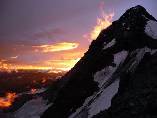 Sonnenuntergang-Grossglockner