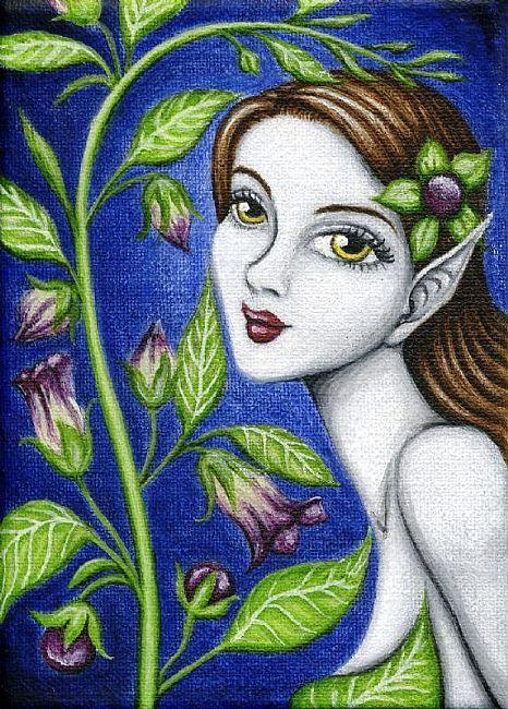 Belladonna - obraz Hiroko Reaney