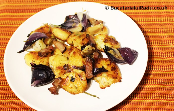 cartofi copti reteta culinara