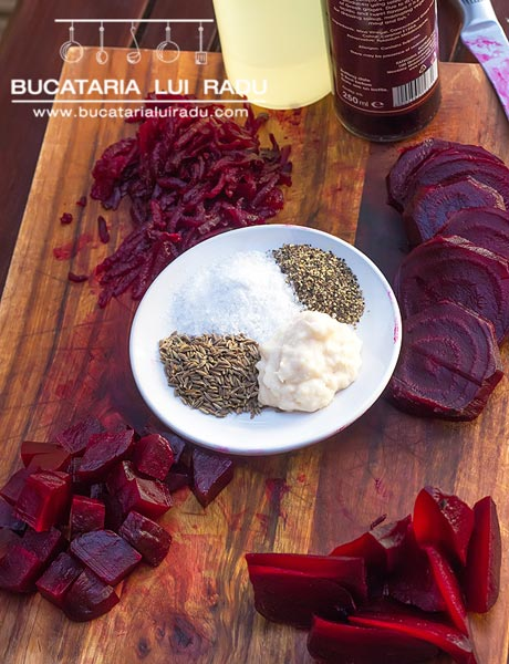 salata de sfecla rosie ingrediente