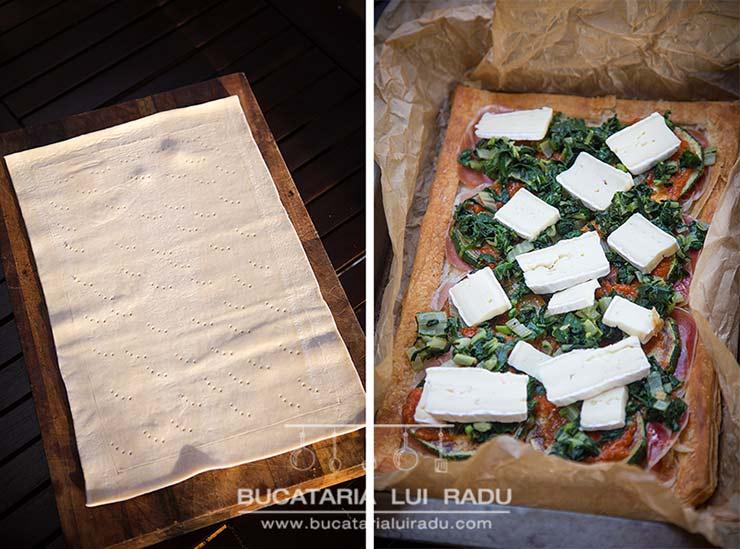 tarta foietaj preparare