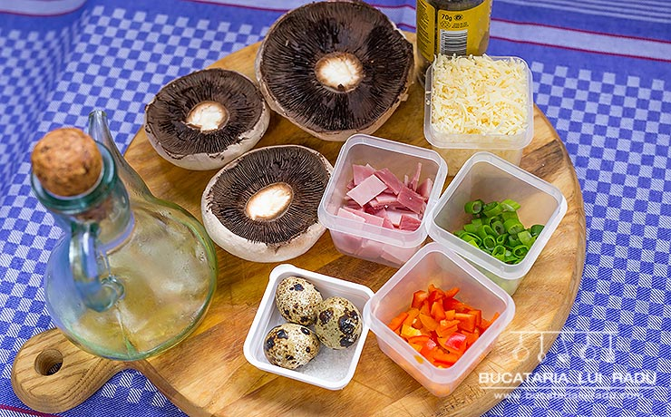 ingrediente ciuperci umplute