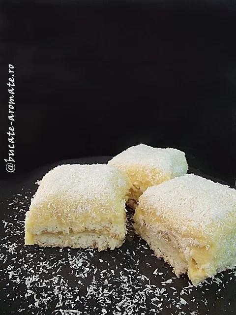 prajitura cu nuca de cocos