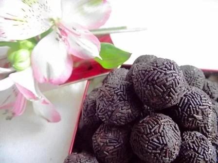 Bilute de ciocolata cu rom