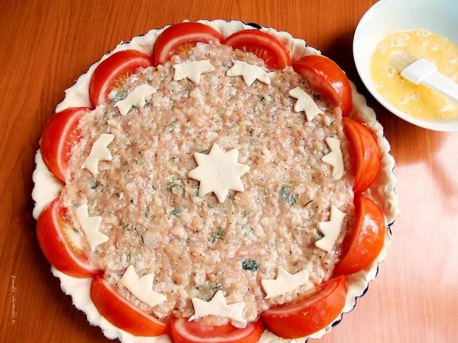 tarta cu carne tocata