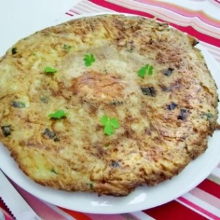 Omleta cu cartofi raşi