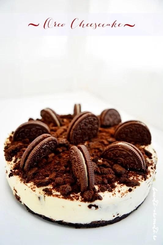 Oreo cheesecake fără coacere