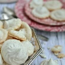 Bezele simple cu vanilie - reţeta de bază