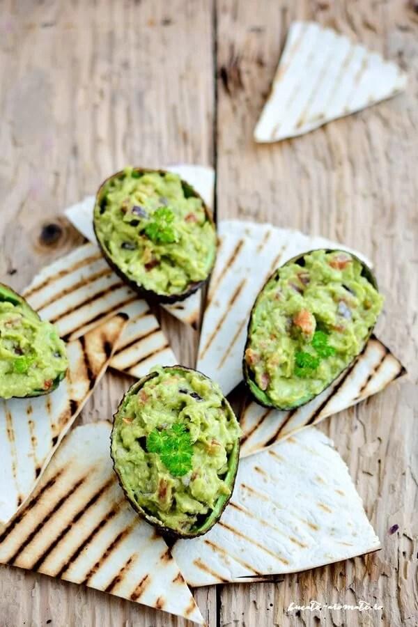 Guacamole – sos mexican de avocado
