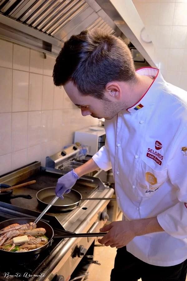 Chef pentru o zi la Brăila